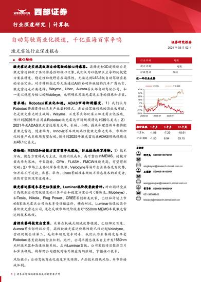 激光雷达行业深度报告:全球手机出货量约 16 亿台