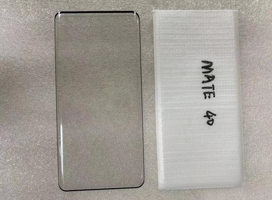 Mate 40手机贴膜曝光 标准版将搭载曲面屏
