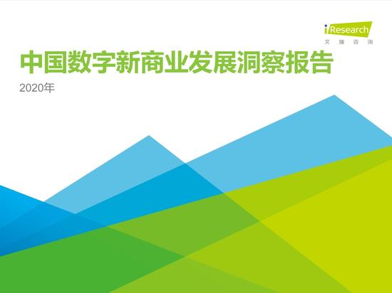2020年中国数字新商业发展洞察报告