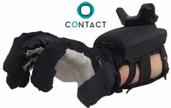 "<b>""胖子""传感手套Maestro:自带发动机的VR手套</b>"