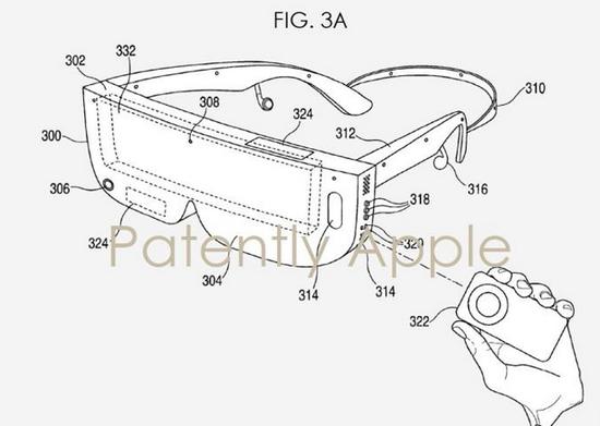 <b>苹果曝光头显专利,未来可接入iphone</b>