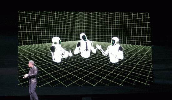 <b>英伟达加入VR社交,推出主打逼真视效的Holodeck</b>