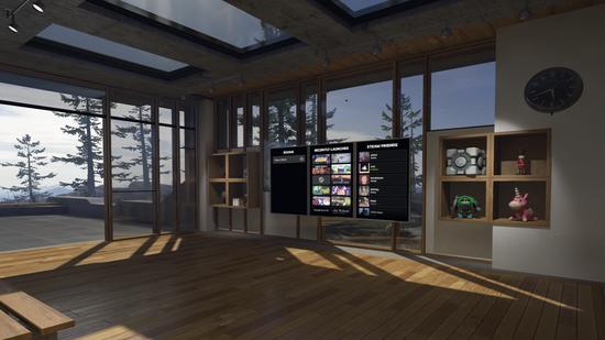 <b>Valve宣布SteamVR Home测试版正式上线</b>
