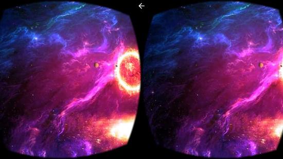 VR视频播放界面