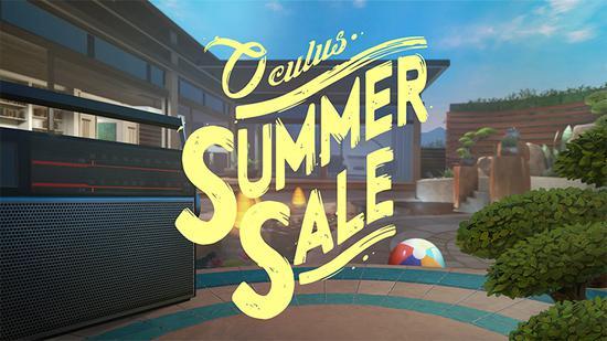 <b>Oculus开始夏日促销活动,一大波游戏六折出售</b>