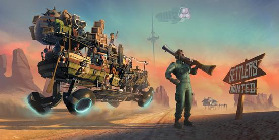 <b>多人VR游戏《Hover Junkers》发布单人游戏</b>