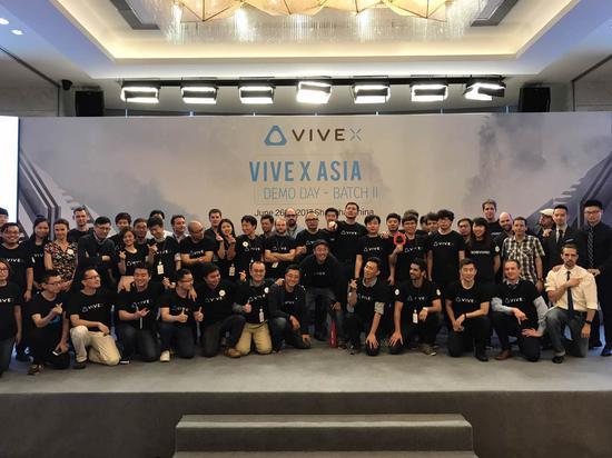 <b>VIVE™ X于上海举办第二批初创团队的Demo Day展示活动</b>