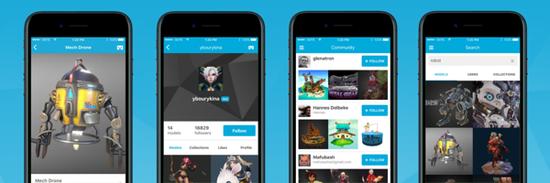 Sketchfab推出全新手机应用,随时随地浏览100万VR内容