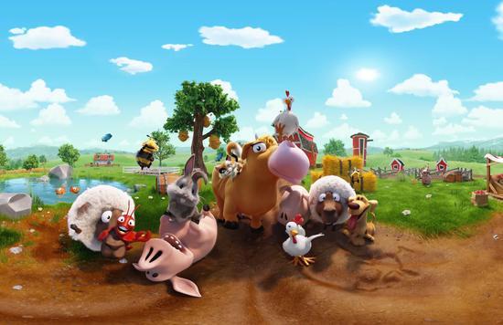 《卡通农场:农场假日》 小动物齐欢迎