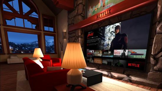 <b>Netflix成使用率最高的VR应用 20%的用户玩过《我的世界》VR版</b>