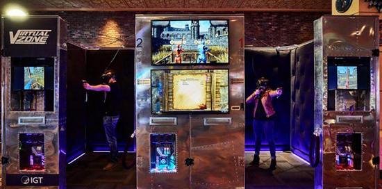 HTC Vive与IGT合作的VR展厅