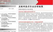 互联网医疗行业分析框架:我国非处方药总销售规模达1751亿元(可下载)
