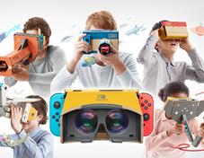 任天堂推出Nintendo Labo VR套件 4月12日发售