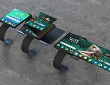 OPPO折叠手表专利曝光 显示面积可增加200%
