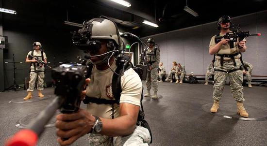 VR军事训练产业规模将在2025年达到17.9亿美元
