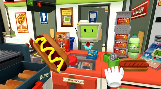《Job Simulator》获得了众多荣誉,包括2017年GDC大奖的最佳VR/AR游戏