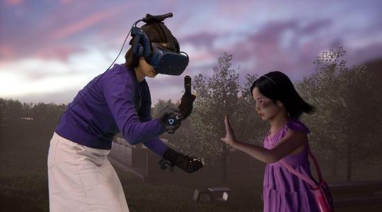 韩国初创公司Vive Studios通过VR让母亲重见她死去的孩子