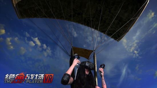 身临其境的跳伞带来真实的失重感