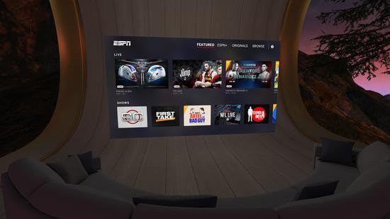 Oculus TV内容升级 可观看ESPN、FOX NOW等内容