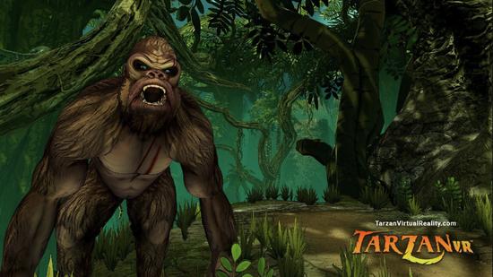 《泰山VR》上手评测:混乱但有趣的丛林之王体验