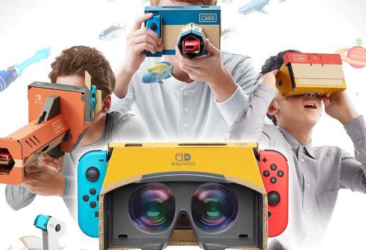 聊一聊「Nintendo Labo VR Kit」以及任天堂背后的野心