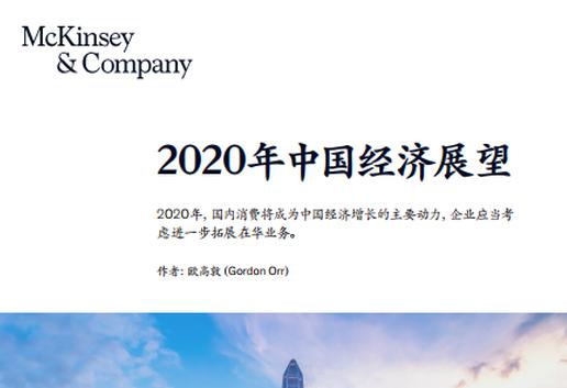 麦肯锡2020年中国经济展望:未来不含美国技术的设备将继续上升(可下载)