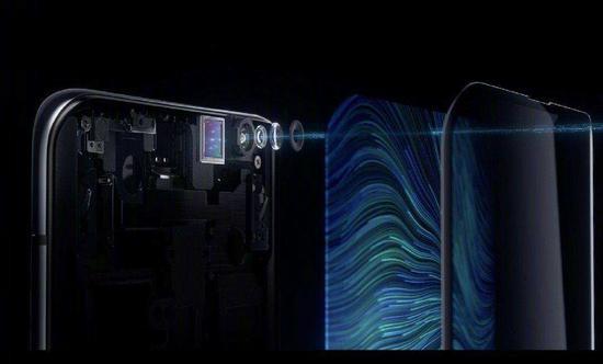 华为有望下半年首发由维信诺供货的屏下摄像头技术