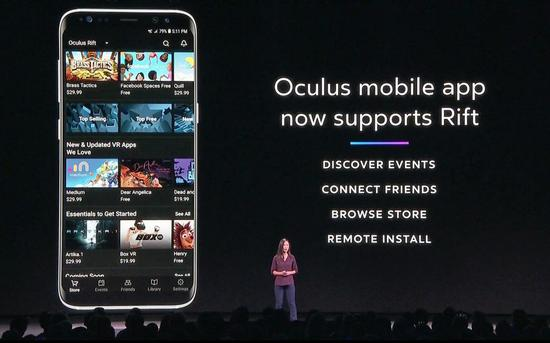Oculus应用程序在Google Play商店中的总安装量超过100万