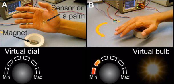 科学家研发柔软可穿戴电子皮肤 为AR-VR带来新交互形式