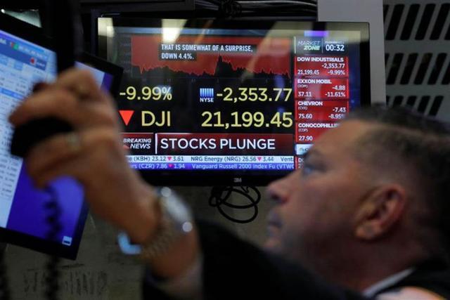 美联储连续4次降息 美指期熔断锁死