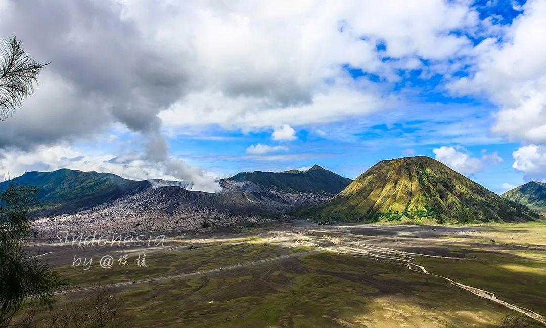 在全球四大火山带之一,登上一座活火山,体验世界末日的荒凉