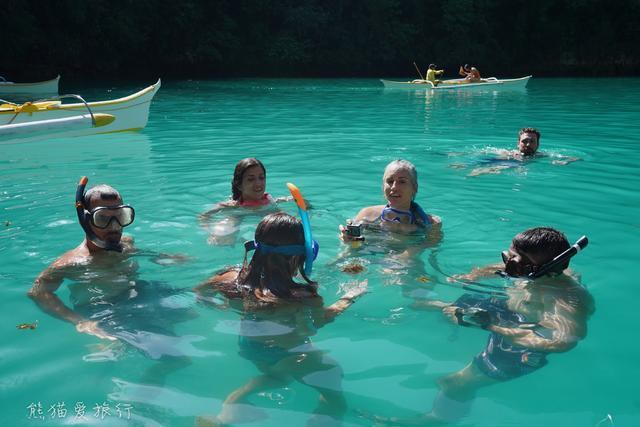去菲律宾和水母一起游泳