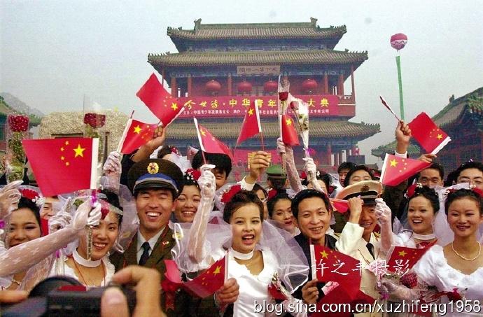 《回顾今天的影像:居庸关长城的婚礼》