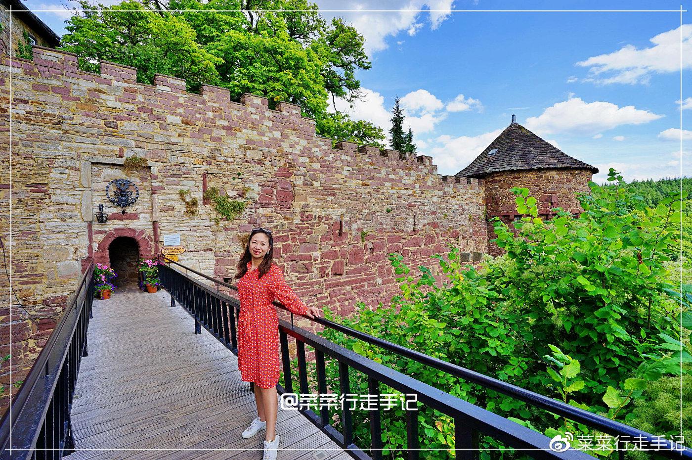 德国特伦德尔堡,住进长发公主的城堡