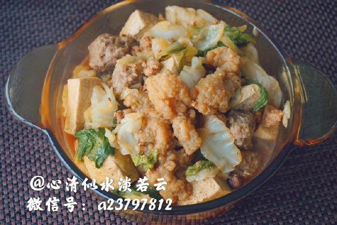 贴秋膘—来一锅酥肉丸子冻豆腐锅