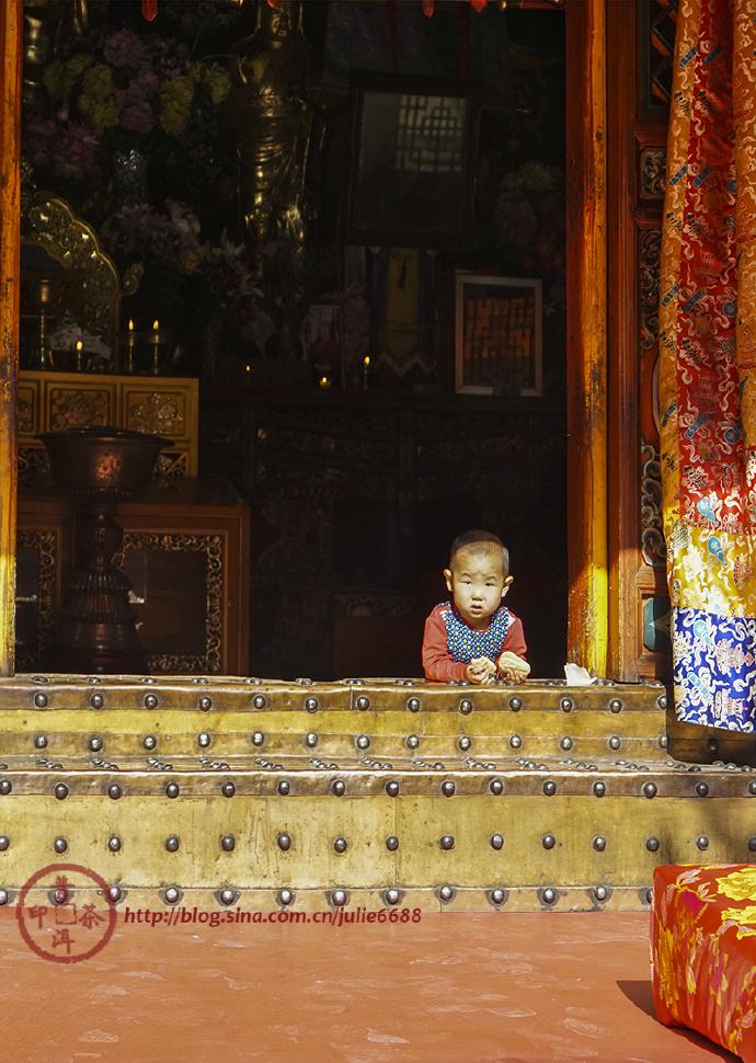 714-『中国/甘南·青海』西宁/金塔寺:塔尔寺的西宁属寺在这里