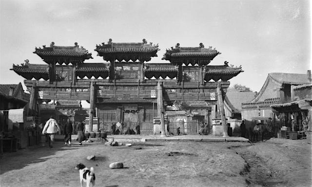 老照片:呼和浩特1919年,百年前的归绥生活