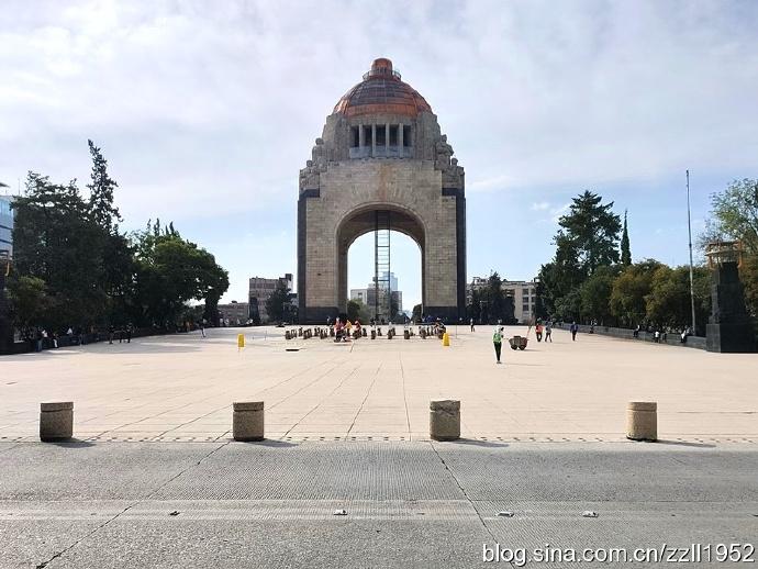墨西哥城(47)革命纪念塔,圣费尔南多墓地博物馆