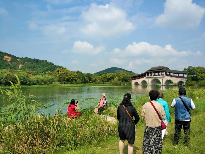 【无锡】走上石塘廊桥,饱览长广溪山水好风光