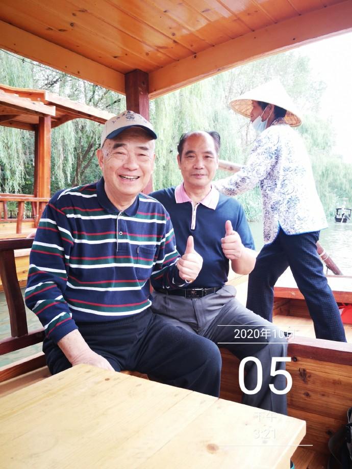 """溱湖:摇橹船上听""""欸乃""""【10月13日阳光上午】"""
