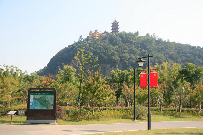 【苏中苏北】长江边的峻秀景区——南通狼山