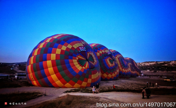 土耳其采风:格雷梅热气球