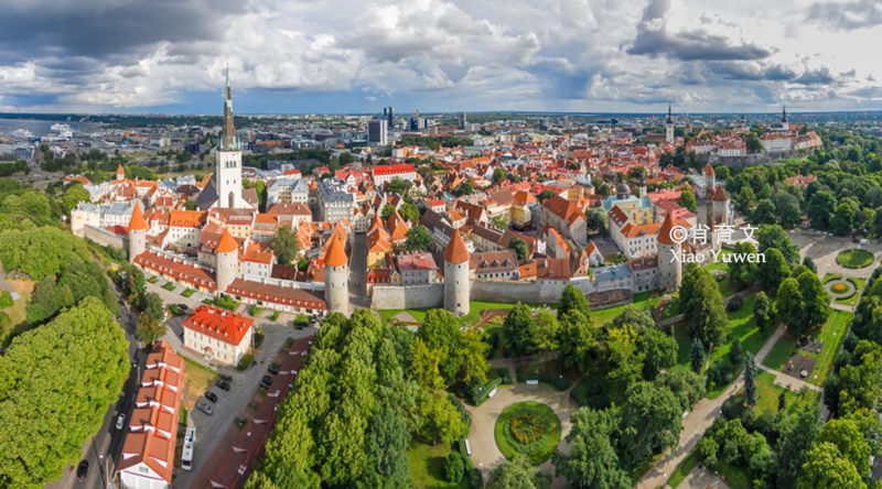 爱沙尼亚被称为欧洲的后花园,走进塔林老城,有最完好的中世纪古城