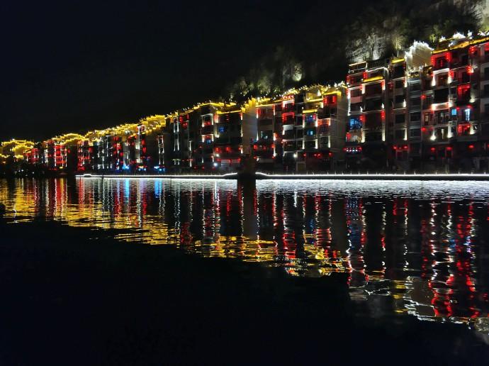 贵州镇远,舞阳河夜色绝美令人陶醉