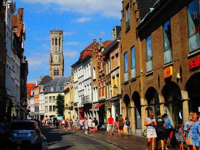 对遥远年代追思和梦想的古城【布鲁日*比利时】