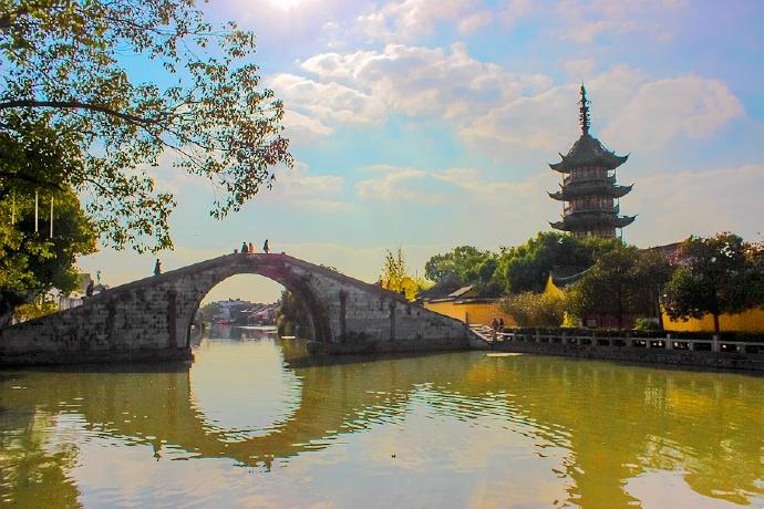江南水乡私藏的景点震泽,很多人不曾去过,免费开放还免费停车