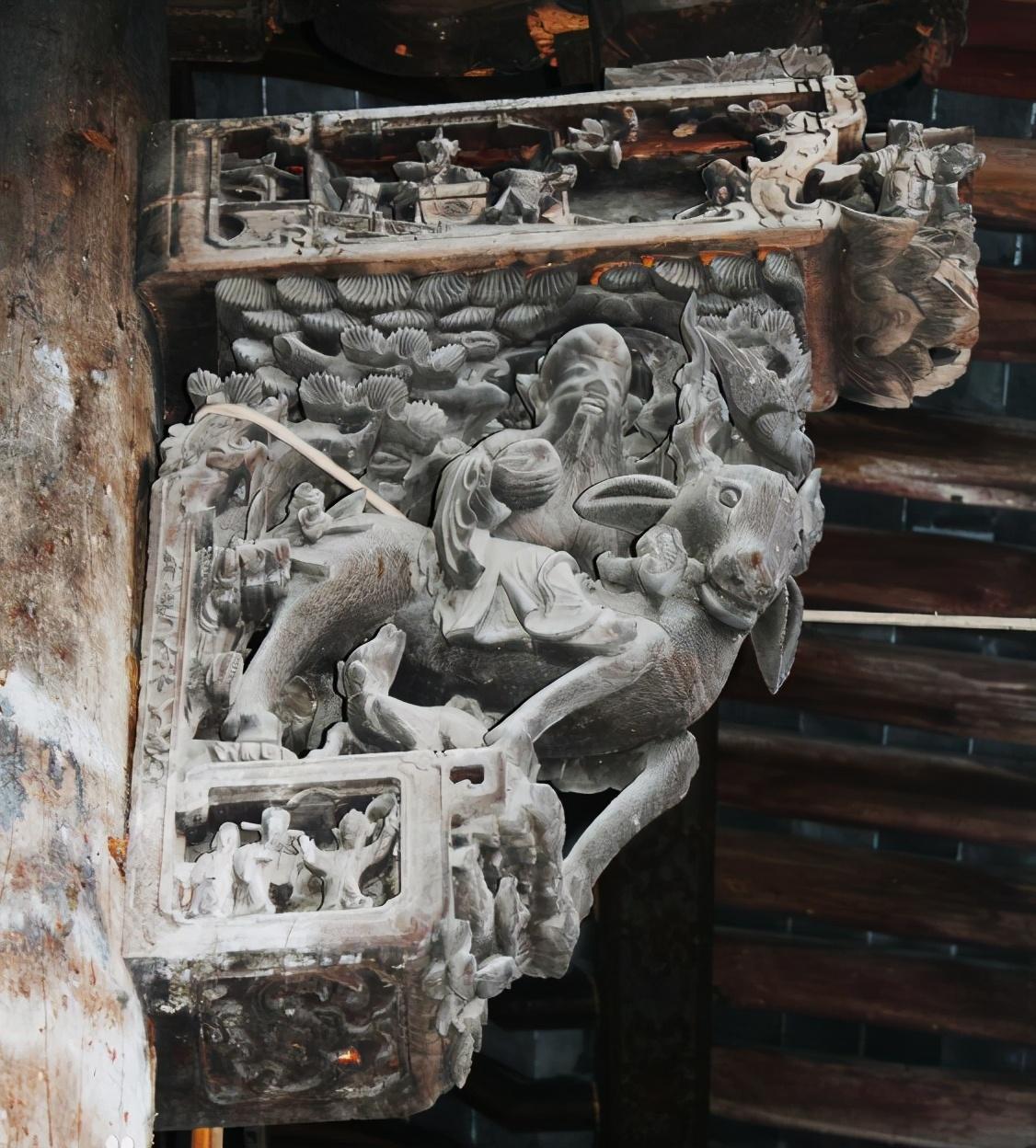 牛腿——中国古建筑经典构件之一