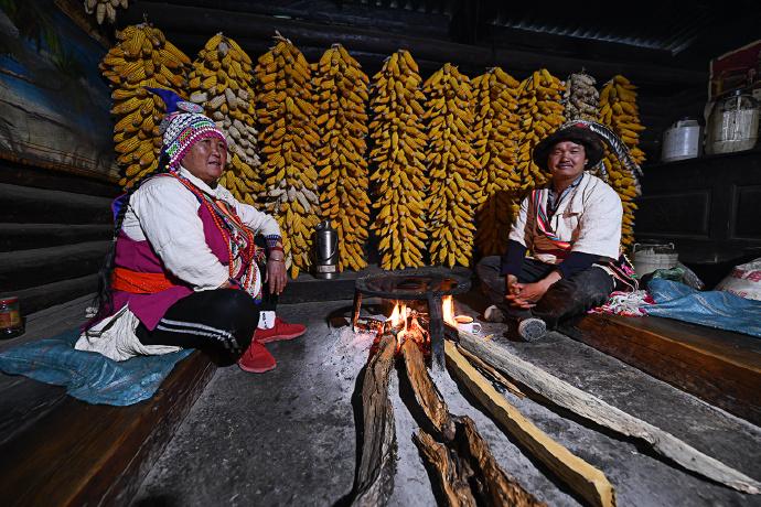 同乐村,因交通不便而被保留下来原汁原味的傈僳族古村落