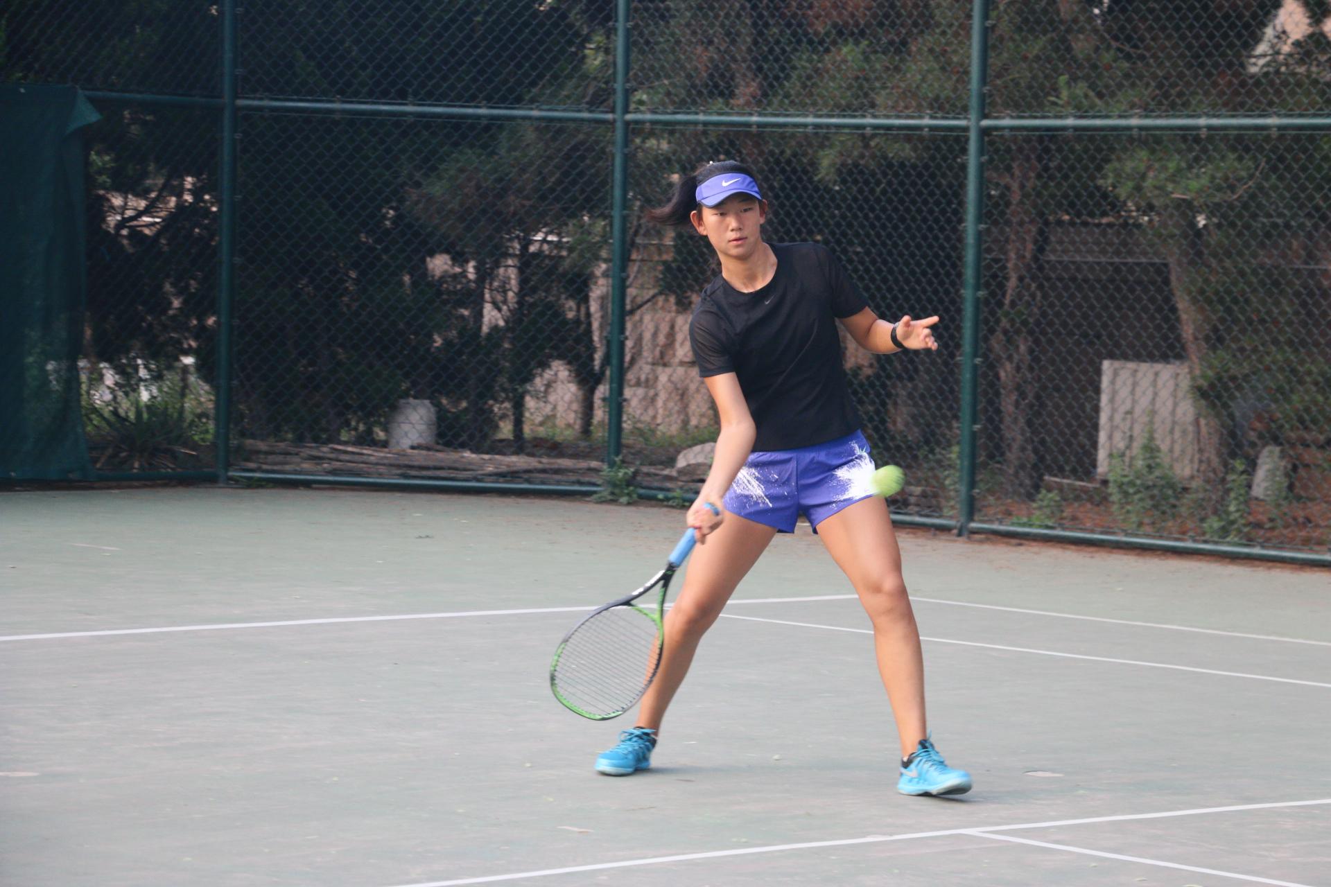 户外体育运动云天木兰单扇鹤舞网球1-4图片
