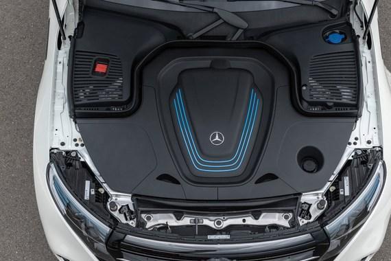 奔驰EQC电动车为啥没有前备箱?而特斯拉Model X、捷豹I-PACE都有?